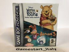Nintendo Game Boy Advance Winnie The Pooh Rumbly Tumbly Adventure Rayman 3