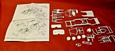 Model Car Parts Mpc 1936 Chevy Modified Race Chassis 125