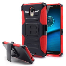 iPhone 5 cellphone red holster combo with clip