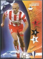 PANINI UEFA CHAMPIONS LEAGUE 2007- #138-OLYMPIACOS-PREDRAG DJORDJEVIC
