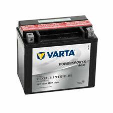 VARTA Powersports AGM Batteria per Moto 12V - Nera (401545)