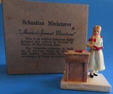 """Vintage Sebastian Miniatures """"Becky Thatcher�"""