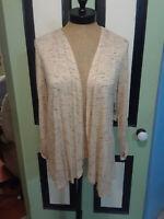 New Directions Khaki Sand Cardigan Womens M NWT MSRP $40 Closet360