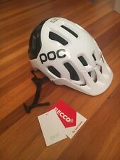 New POC Tectal Race SPIN XL/XXL Helmet -Hydrogen White/Uranium Black 59-62cm