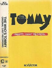 Various The Who's Tommy (Original Cast Recording) CASSETTE ALBUM Musical Rock