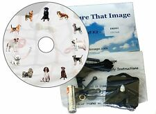 CD Clock Kit , Dogs with a Dog Dial - for all Dog Lovers