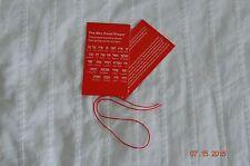 "Red String Kabbalah Bracelet Good Luck Charm Protection 1 x 12"""