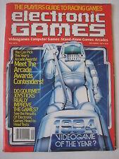 vtg Electronic Games September 1983 computer retro video gaming activision atari