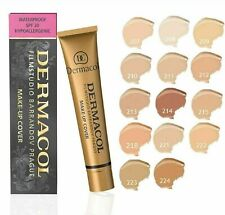 Dermacol Makeup, FOUNDATION  MAKEUP COVER Waterproof,BUY 4 GET 3 MOUTH COVER.USA