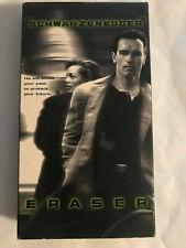 ERASER, ARNOLD SCHWARZENNEGGER, VANESSA WILLIAMS, VHS