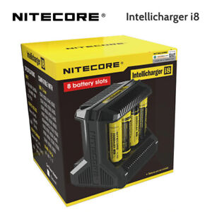 NITECORE INTELLICHARGER I8 Battery Charger 100% Authentic