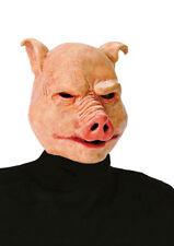 Latex Pig Mask The Blood Lands Overhead Fancy Dress Horror Halloween Masque NEW