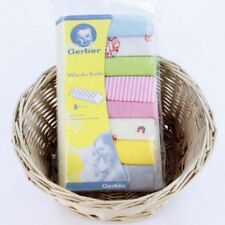 NEW! 8-PIECE BABY WASHCLOTH/ BURP CLOTHS