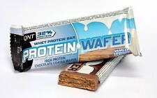 Qnt proteína Oblea Bar concentrado Cuerpo combustible & slimmng (vainilla) 12 X 35g