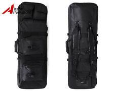Tactical Military Airsoft Dual Rifle Gun Bag Carrying Case Backpack 85cm Black