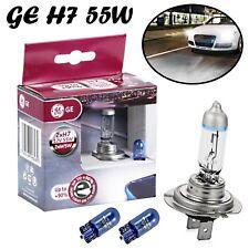 2x GE H7 55W 12V PX26d Megalight Ultra +90% Ersatz Scheinwerfer Lampe + 2x W5W