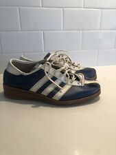 Vintage 1970s Adidas Avanti Originals Sneaker Brogues 5/35 Leather