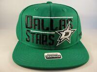Dallas Stars NHL Reebok Snapback Hat Cap Green