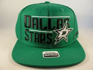 Dallas Stars NHL Reebok Snapback Hat Cap Green