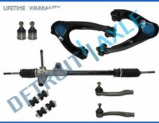 9pc Complete New Manual Steering Rack And Pinion Suspension Kit Honda Civic