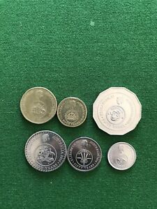 Australian 2016 Coins X 6  Commemorating 50th Anniversary Of Decimal Currency