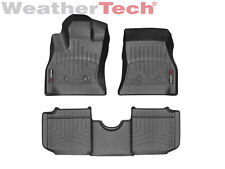 WeatherTech Custom Floor Mat FloorLiner for Fiat 500L - 2013-2017 - Black