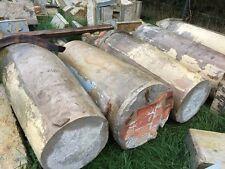 große Sandsteinsäule aus Elbsandstein ca 1500 kg 170 x 74 cm