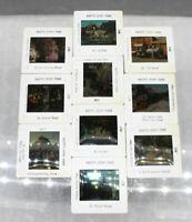 Knotts Berry Farms & Walt Disney World Pana-Vue Slide Set HUGE LOT 200+ Slides!