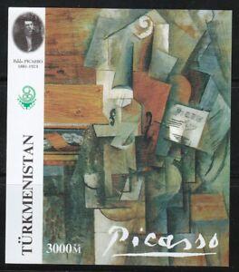 Souvenir sheet 1999 Famous artist Pablo Picasso Paintings,Art,Cubism **