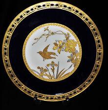 6406:PRUNKTELLER,Gilman&Collamore,NEW YORK,vergoldet,ästhetische Bilddarstellung