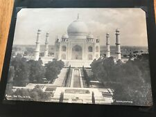 "1860's PHOTO INDIA BOURNE AND SHEPHERD- The ""Taj"" # 1075"