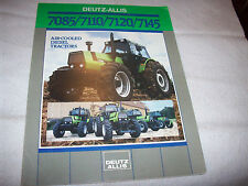 Deutz-Allis 7085 7110 7120 7145 Tractor Advertising Brochure