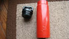 Large used Red Water Bottle