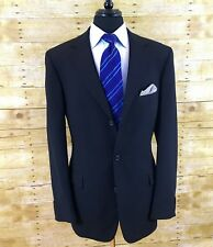 Hugo Boss S100's Virgin Wool Twill 46L Mens Travel Blazer Sport Coat Jacket 46 L