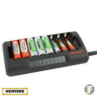 Genuine VAPEX VTE8000 Fast Charge Battery Charger - Charges up to 8 Batteries