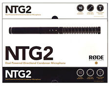 Rode NTG2 Dual Powered Directional Condenser Microphone