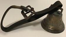 Vintage Chiantel Fondeur 1878 Saignelegier Cowbell w/original leather strap