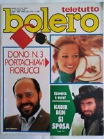 Bolero	1538 Celentano Bedi Guerrieri James Hunt Salvino Ciang Cing Sorrenti
