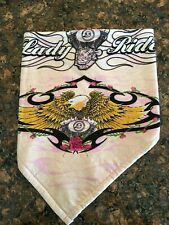 Light Pink Lady Rider Fleece Lined Biker Bandana