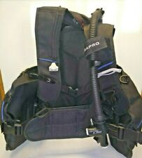 Scubapro Pilot Bcd With Inflator. Black. Size Medium scuba diving