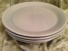 Franciscan reflections blue gray 4 dinner plates