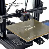 [Gulfcoast Robotics] 235 x 235mm PEI Sheet Print Surface for Ender 3 3D Printers