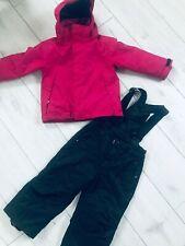 Girls ski suit McKinley ski jacket size 104 cm & American ski trousers 98 cm