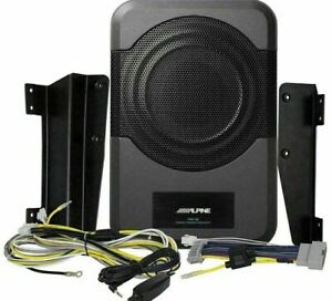 ALPINE PWE-S8-WRA Compact Powered Subwoofer 2011 - 17 Jeep Wrangler JK Unlimited