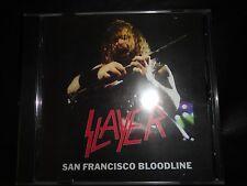 SLAYER - San Francisco Bloodline  live CD