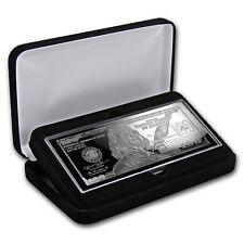 4 oz 100 $ Banknote 2017 aus purem 999 Silber Silberbarren m. Zertifikat & Box