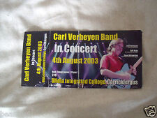 Carl Verheyen - Unused Ticket - 2003