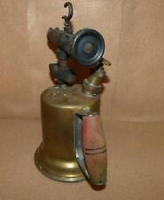 Brass Blow Torch with Wooden Handle