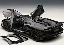 Autoart LAMBORGHINI AVENTADOR J BLACK in 1/18 Scale. New Release! In Stock!