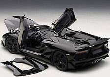 Autoart LAMBORGHINI AVENTADOR J BLACK in 1/18 Scale. New Release! In Stock!